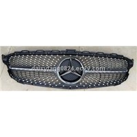 fashion diamond grille for BENZ C63 W205 2015