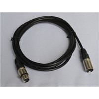 DMX Cable / XLR Plug Cable - 5 Meters for Stage Light Accessory