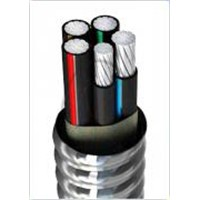 Aluminum Alloy self-locking aluminium tape Armored Power Cables  ZA-AC90(YJHL8)