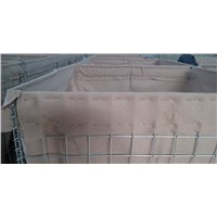 Heavy Duty Welded Hesco Blast Barrier Wall with Heavy Geotextile