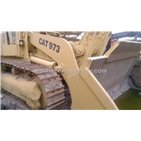 Used CAT 973 crawler bulldozer second hand CAT crawler 973 bulldozer used condition CAT 973 loader