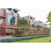 Non-welded Galvanized Zinc Steel Building Railing, Garden Handrail and Road railing fences