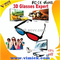 Red Blue 3D glasses VMK-G302 for 3d movies