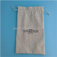 Various drawstring jute dust bag