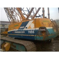 Year 1998 kobelco P&H7055 crawler crane used condition kobelco 55t second hand kobelco 55t crane
