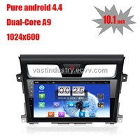 "10.1"" Android 4.4 China auto dvd for Nissan Teana  with 1024 * 600 resolution and DVR camera input"