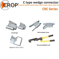 C type wedge connector