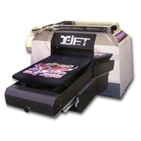 Fast T-JET3 DTG Direct To Garment T-SHIRT Fabric Clothes Textile Flatbed InkJet Printer