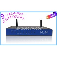 Industrial 3G 21Mbps high power Openwrt Wireless Router for video monitoring system, Kiosk, Vehicle