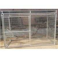 Top Metal Roof Large Welded Mesh Dog Kennel Panel upto 10ft long