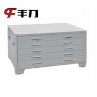 Various models k/d structure metal drawing storage cabinet