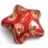 wholesale star shape christmas candy box