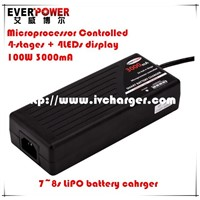 12V/24V/36V lifepo4 battery club car golf cart smart battery charger