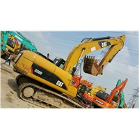 Second hand used crawler caterpillar 320d  excavator