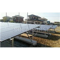 Aluminum Solar ground Mounting Bracket for PV panels