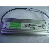 IP67 Standard 12V 100W LED Waterproof Driver 12V Power Supply with CE/FCC/RoHS/CCC