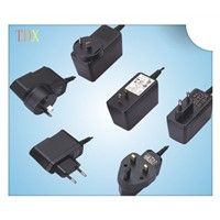 Wholesale universal wall mount power supply ul 110v power plug adapter