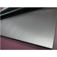 304 hairline stainless steel sheet for Elevator doors, cabs & ceiling panels