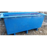 China fiberglass frp fish farm stock tank