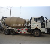 Used shacman year 2011 10m3 mixer truck second hand delong china brand 10m3 mixer truck sale