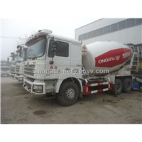 Year 2011 used shacman 10m3 mixer truck second hand year 2011 delong 10m3 mixer truck for sale