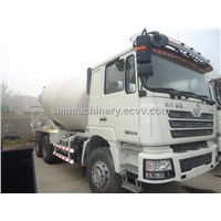 Year 2012 Shacman 12m3 mixer truck used condition delong year 2012 12m3 mixer truck sale