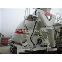 Used condition Shacman delong year 2012 10m3 mixer truck second hand Shacman 10m3 mixer truck sale