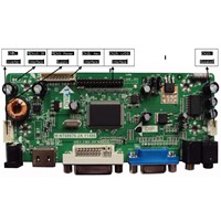 M.NT68676.2A(HDMI+DVI+VGA+Audio) LCD/LED Controller Board