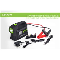 24V Jump Starter for Diesel Truck, ,Bus, Ship with LED Light