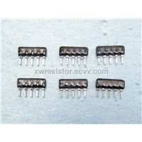 From 3 Pin to 24 Pin Small Size SIP Resistor Networks