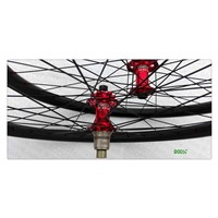 27.5 inch Carbon MTB wheelsets 35mm Width Clincher Hookless Tubeless Compatible for Cross Country