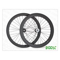 50mm Front 60mm Rear Clincher Carbon Track Bike Wheels Fixed Gear Bicycle Wheels