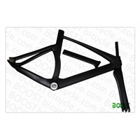 Boostbicycle 700C full carbon track bike frame