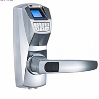 Fingerprint password biometric fingerprint door lock for glass and wooden lock with high quality
