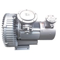 Regenerative blower side channel blower for suction and blow