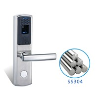 Remote control fingerprint door lock for wooden and metal door with low price