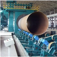 Steel Pipe Facade Shotblasting Cleaning Machine