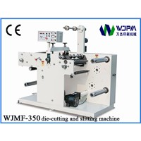 I.AUTOMATIC LABEL DIE-CUTTING AND SLITTING MACHINE