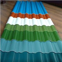 hot rolled color coated ppgi steel sheet, roofing sheet