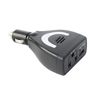 portable 75w dc to ac power inverter for car