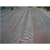 razor barbed wire/stainless steel razor barbed wire/razor barbed wire factory
