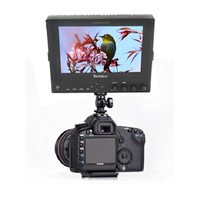 7 inch external camera top monitor for photography