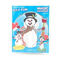 DIY Growing Funny Snowman Christmas decoration