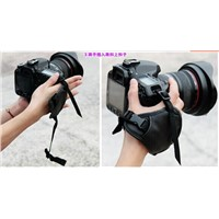 Fashion Leather DSLR Camera Grip Wrist Hand Strap for Canon Nikon Somy Pentax camera