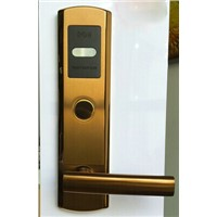 High quality popular Smart card hotel door lock safe handle design