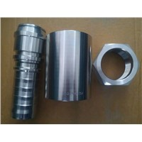 Metric Female 24 Cone Hydraulic Hose Fitting (KCAV6-54-32)