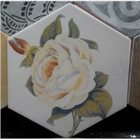 Hot sale Hexagon Ceramic Tile Inkjet 258*298mm