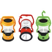 JA-1972B solar led camping lantern with cellphone charger