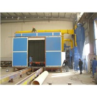 Metal Polishing Abrasive Blast Room