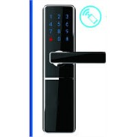 no using card, keys, fingerprint bluetooth door lock